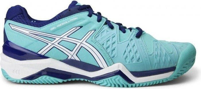 ASICS Tennisschoenen Gel Resolution Clay 6 dames aqua maat 36